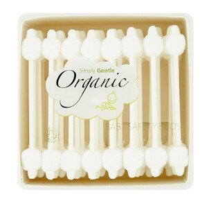 Simply Gentle Organické dětské vatové tyčinky Simply Gentle (56 ks)