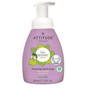 ATTITUDE Dětské pěnivé mýdlo na ruce ATTITUDE Little leaves s vůní vanilky a hrušky 295 ml