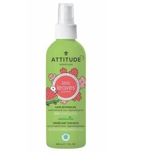 ATTITUDE Sprej pro snadné rozčesávání dětských vlásků ATTITUDE Little leaves s vůní melounu a kokosu 240 ml