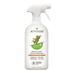 ATTITUDE Nature+ Čistič na koupelny ATTITUDE s vůní citronové kůry s rozprašovačem 800 ml