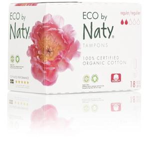Eco by Naty Dámské ECO tampóny Naty (18 ks) - regular