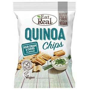 Eat Real Quinoa Sour Cream & Chives 80 g