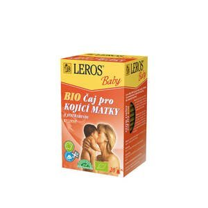 Leros Baby BIO Čaj pro kojící matky s jestřabinou 20 x 2 g