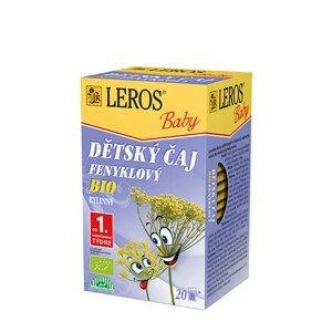 LEROS LEROS Baby BIO Dětský čaj Fenyklový 20 x 1.5 g