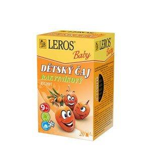 LEROS LEROS Baby Dětský čaj Rakytníkový 20 x 2 g