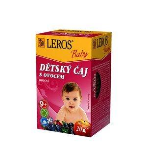 LEROS LEROS Baby Dětský čaj s ovocem 20 x 2 g