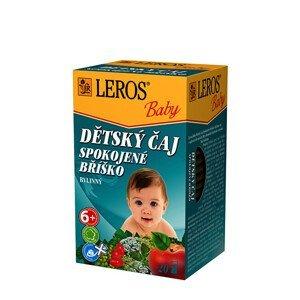 LEROS LEROS Baby Dětský čaj Spokojné bříško 20 x 2 g