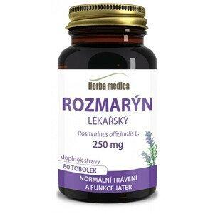 HerbaMedica Rosmaria - Rozmarýn lékařský - 80 pilulek