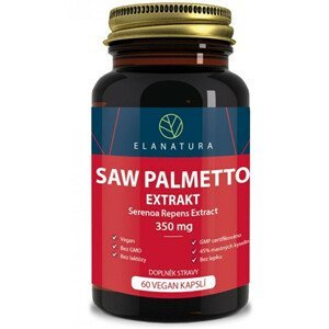 Elanatura Saw Palmetto - extract 330 mg - 60 kapslí