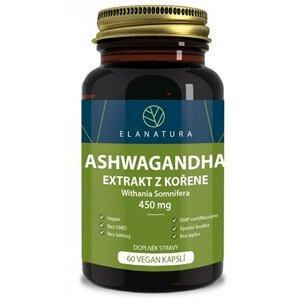 Elanatura Aswagandha extrakt 60 kapslí