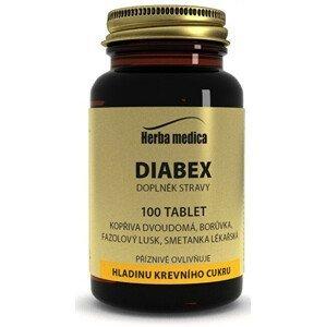 HerbaMedica Diabex 50g -  hladina krevniho cukru 100 tablet