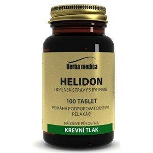 HerbaMedica Helidon 50g - krevní tlak 100 tablet