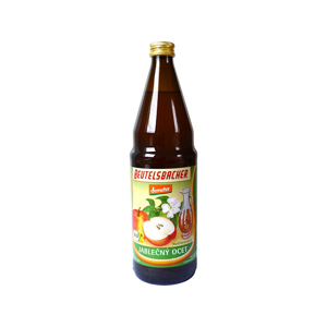 Beutelsbacher Bio Jablečný ocet nepasterizovaný 0,75l (vratná lahev)