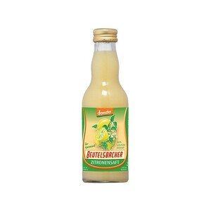Beutelsbacher Bio Citronová šťáva 100% Beutelsbacher 0,2 l
