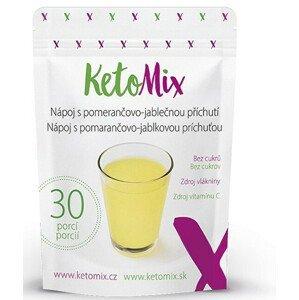 KetoMix Nápoj s pomerančovo-jablečnou příchutí 90 g/ 30 porcí