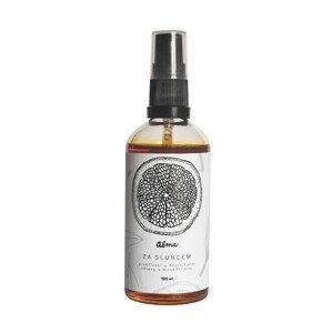 Alma-natural cosmetics Prohřívací tělový olej Za Sluncem 100 ml