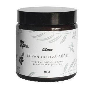 Alma-natural cosmetics Tělový a obličejový krém Levandulová péče 120 ml