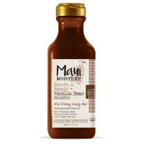 MAUI MAUI vyhlazující šampon pro kudrnaté vlasy + Vanil.lusky 385 ml