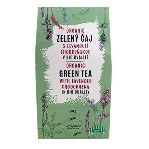 Levandulové Údolí Zelený čaj s levandulí Chodouňskou BIO 30 g