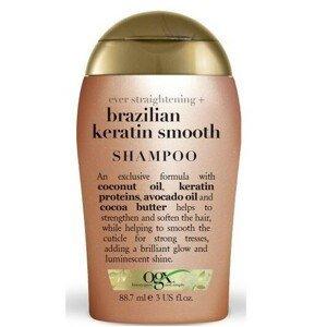 OGX Zjemňující šampon s brazil.keratinem 88 ml mini