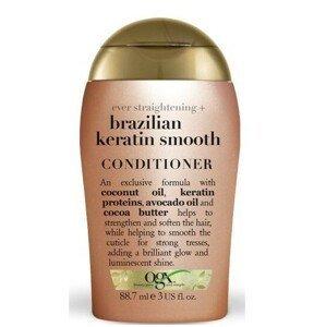 OGX Zjemňující kondicioner s brazil.keratinem 88 ml mini