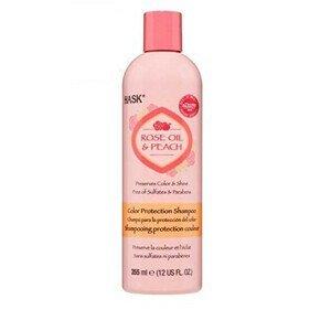 Hask Šampon pro barvené vlasy - růž.olej-broskev 355 ml