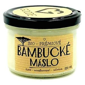 Goodie Bambucké máslo - Nilotica - BIO Fairtrade 220 ml