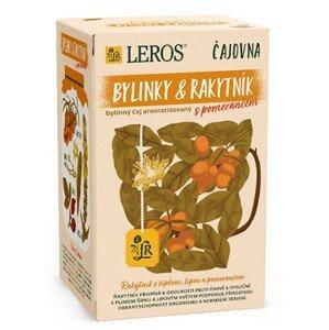 LEROS Čajovna Rakytník a pomeranč 20 x 2 g