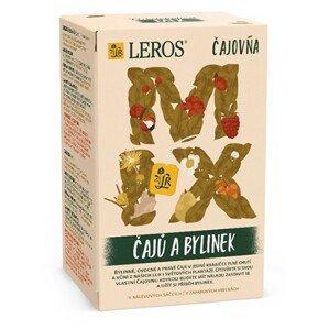 LEROS Čajovna Mix čajů a bylinek 20 x 2 g