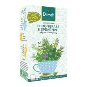 Dilmah Green Rooibos Lemongrass & spearmint 20 x 2g