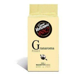 CASA DEL CAFE VERGNANO Káva mletá Vergnano Granaroma 250 g vacuum