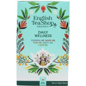 English Tea Shop MIX každodenní Wellness, BIO 20 sáčků