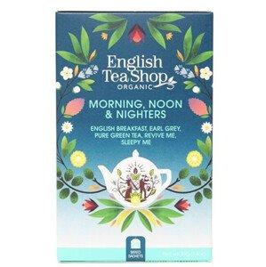 English Tea Shop MIX ranní, polední a noční čaj BIO 20 sáčků