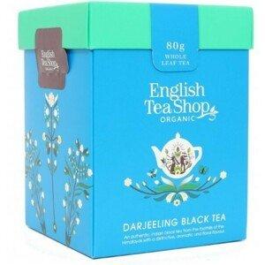 English Tea Shop Černý čaj Darjeeling sypaný bio 80 g