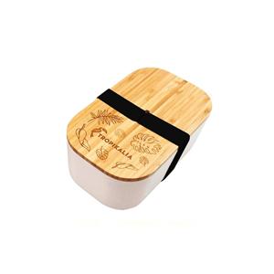 Tropikalia Lunch box L - Černý