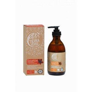 Tierra Verde Kaštanový šampon pro posílení vlasů s vůní pomeranče 230 ml
