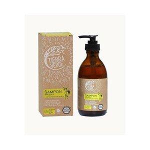Tierra Verde Březový šampon na suché vlasy s vůní citronové trávy 230 ml