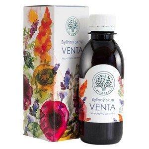 Bilegria VENTA bylinný sirup na podporu odhlenění se šalvějí a slézem 200 ml