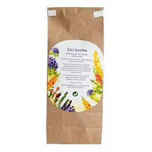 Bilegria GASTRA bylinná čajová směs na zažívání s arónií 50 g