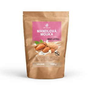 Allnature Mandlová mouka natural 1 000 g
