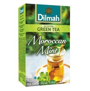Dilmah Čaj zelený Marocká máta 20 ks