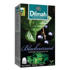 Dilmah Čaj černý, Černý rybíz 20 ks