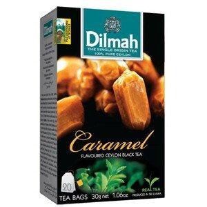 Dilmah Čaj černý, Karamel 20 ks
