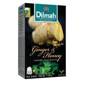 Dilmah Čaj černý, Zázvor, Med 20 ks