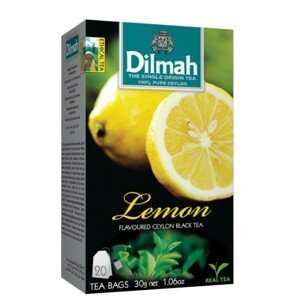 Dilmah Čaj černý, Citron 20 ks
