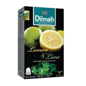 Dilmah Čaj černý, Citron, Limetka 20 ks
