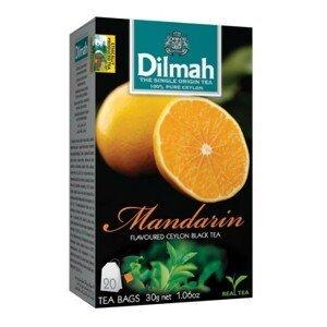 Dilmah Čaj černý, Mandarinka 20 ks