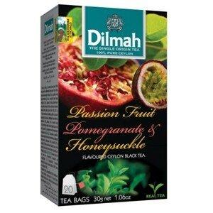 Dilmah Čaj černý Maracuja Granátové jablko Zimolez 20 ks