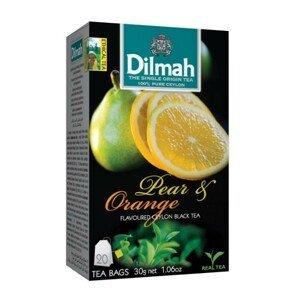 Dilmah Čaj černý, Hruška, Pomeranč 20 ks