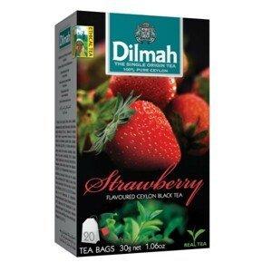 Dilmah Čaj černý, Jahoda 20 ks